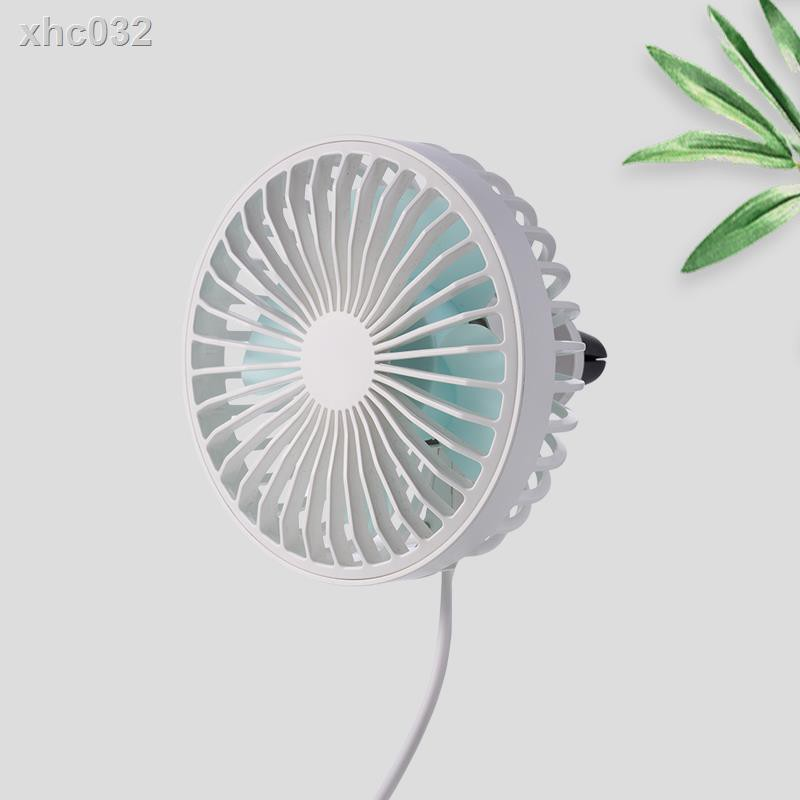 Mmyu Portable Small Fan Dormitory Fan Office Fan Mini USB Desktop White No Battery