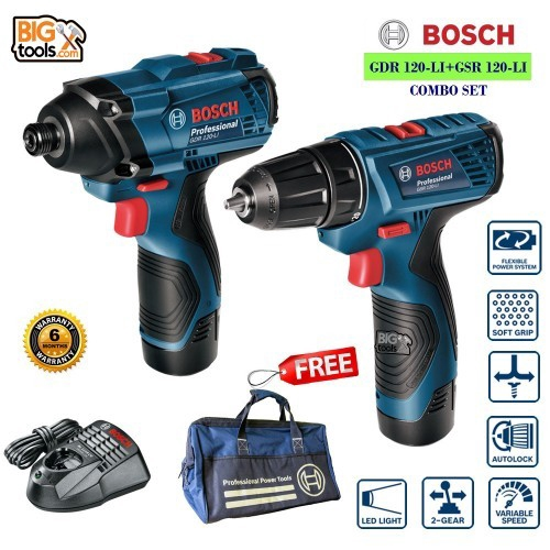 Bosch Professional Gsr 1000 Cordless Drill Driver Extra