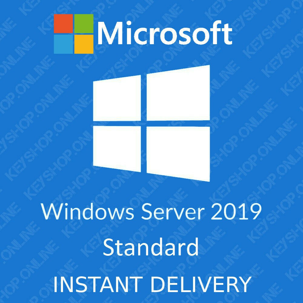 Windows Server 2019 Standard 2016 2012 R2 2008 Standard 2019 Genuine  Microsoft license original activation key
