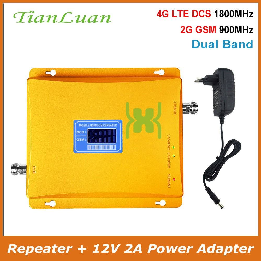 3051162ffed396 Band 1, 8 Signal Booster GSM 900MHz W-CDMA 2100MHz 3G 2G Signal Repeater +  Power | Shopee Malaysia