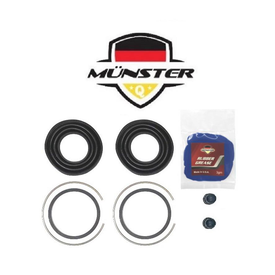 Münster Disc Brake Caliper Repair Kit Rear for MR408137X - Mitsubishi Grandis