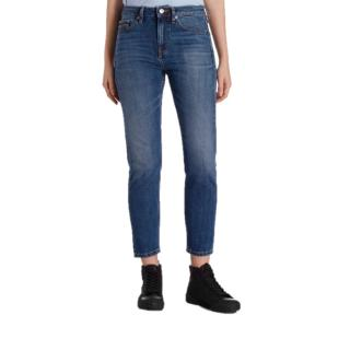 rational construction customers first purchase cheap Calvin Klein CK Women's Morioka Blue High-Rise Slim Selvedge Jeans MORIOKA  BLUE SL