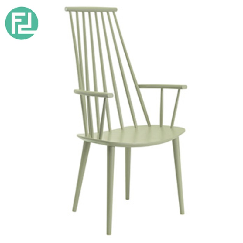 Fulton scandinavian solid wood dining chair