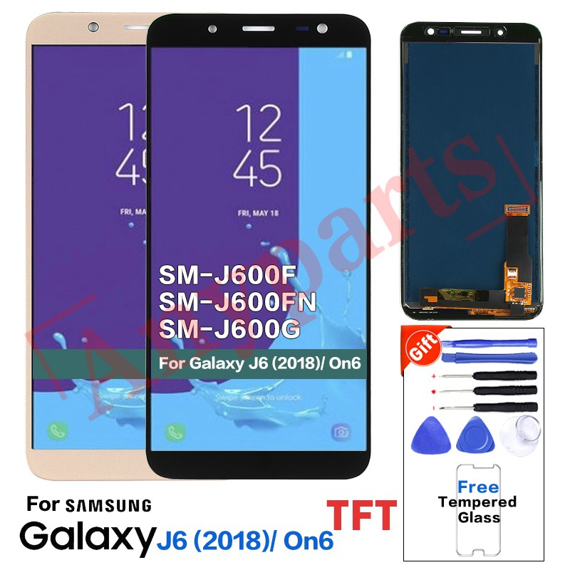TFT For Samsung Galaxy J6 2018 J600 J600F J600FN Display lcd Screen  replacement
