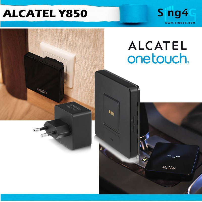 Alcatel Y850 (3000mAH) 4G Mifi + Magnetic Charger