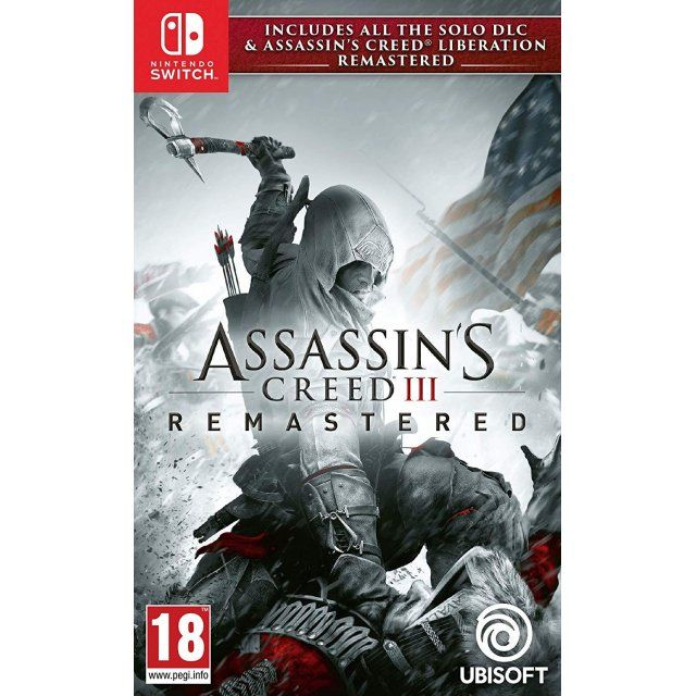 assassins creed 3 remastered switch dlc