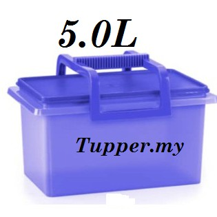 Tupperware Buddy Keeper With Handle 5L 5.0L Level carry all