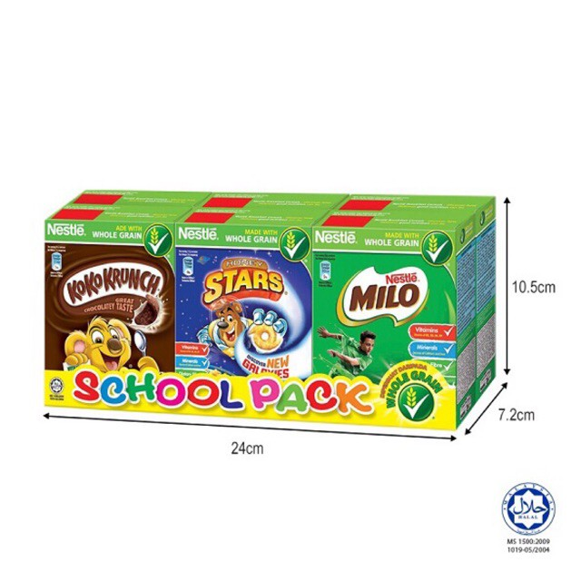 School Pack Cereal 140g