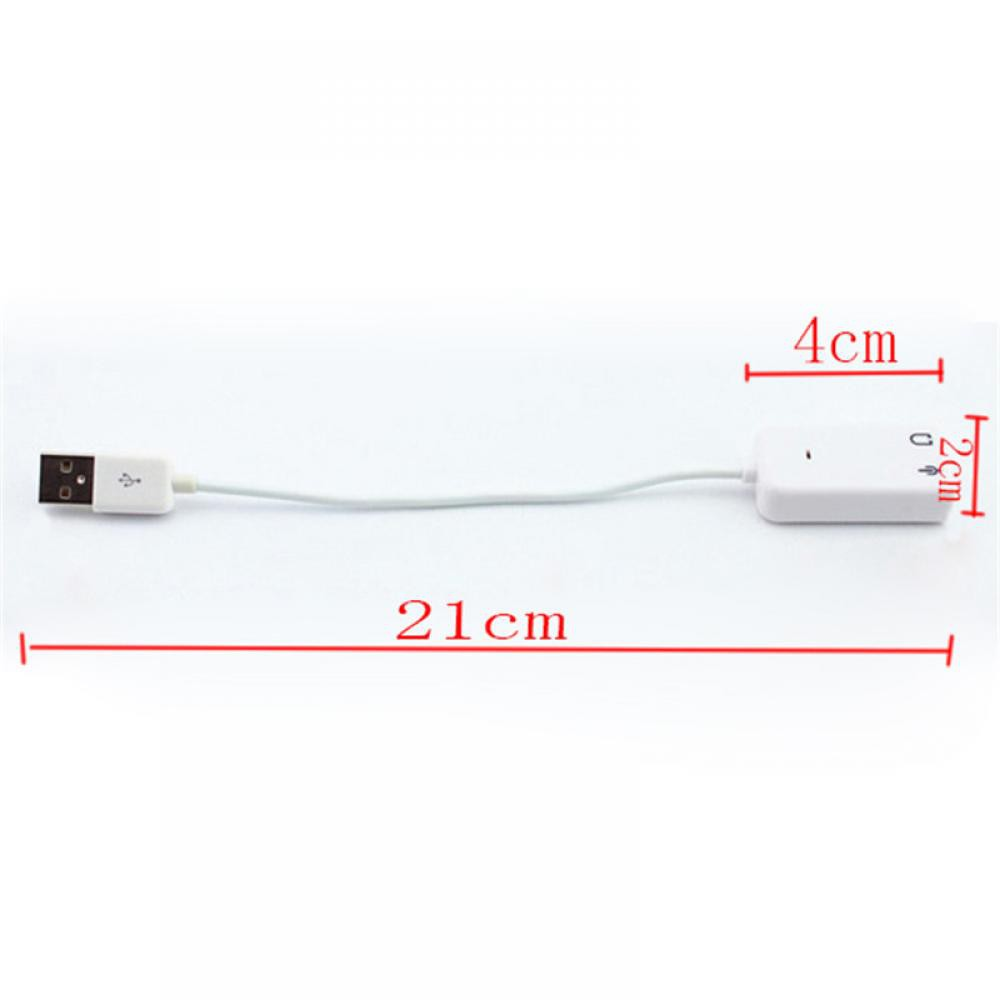 Hot Nice Audio USB 2 0 WIN 7 Channel Laptop Sound Card PC for PC Laptop WIN  7