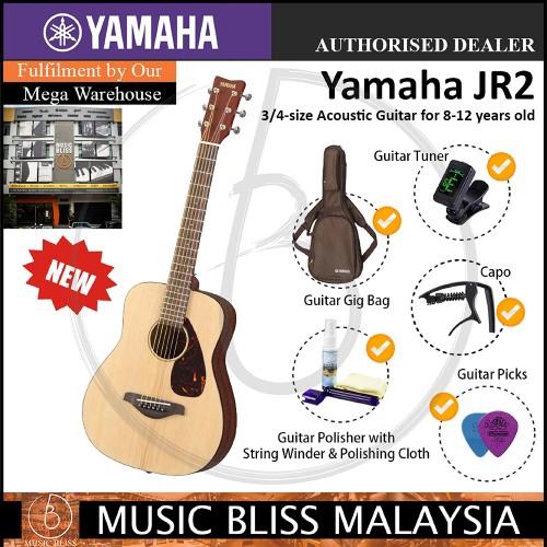 dc7b6c19fb Yamaha JR2 3/4-size Dreadnought Beginner Acoustic Guitar - Tobacco Brown ( JR-2)   Shopee Malaysia