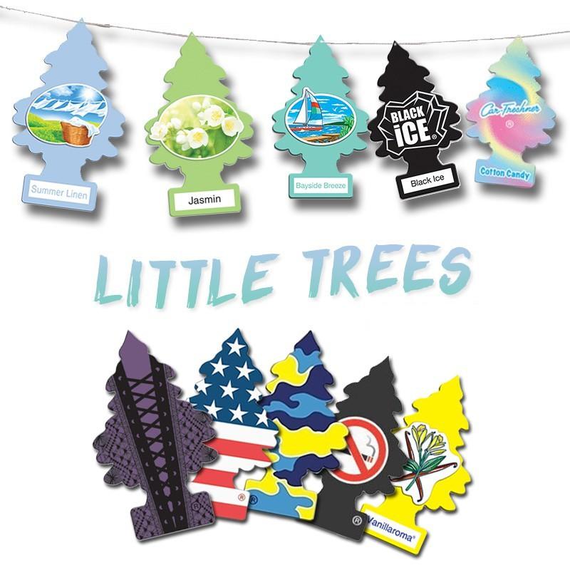 พร้อมส่ง Littletrees ต้นสน แผ่นน้ำหอมปรับอากาศ แผ่นน้ำหอมต้นสน เลือกกลิ่นได้ ลิตเติ้ล ทรีส Little
