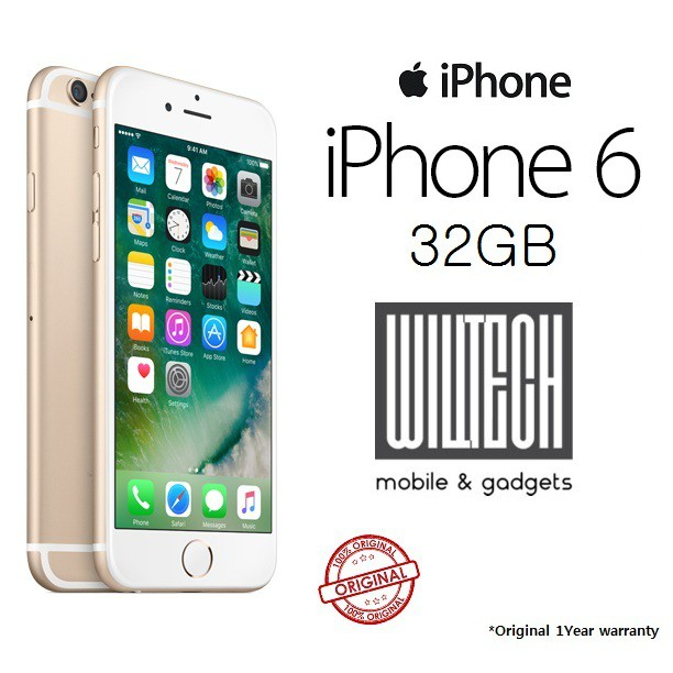 (ORIGINAL)APPLE IPHONE 6 32GB MY SET SEAL PACK FULL WARRANTY BY MALAYSIA  55aacde302