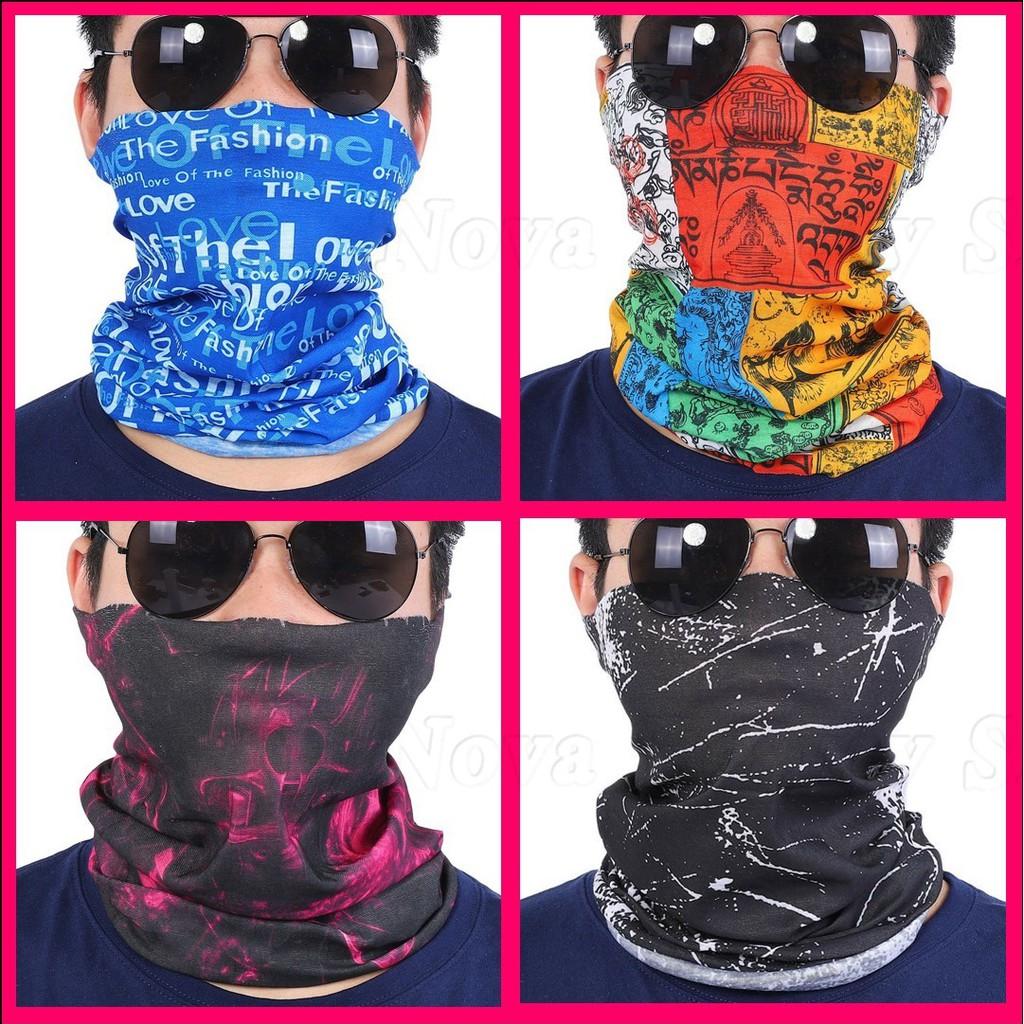 Cycling Riding Half Face Mask Neck Scarf Bandana Outdoors Sport Headband Durable