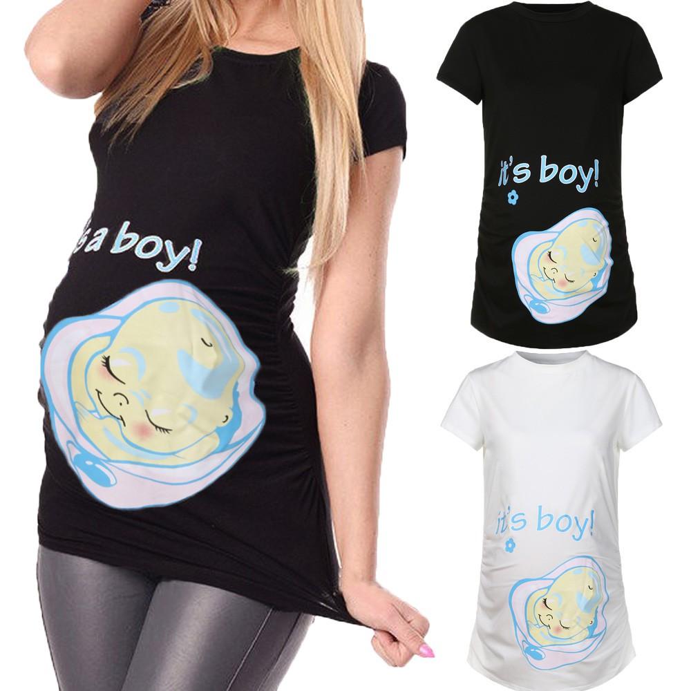 ebe423613f4eb Pregnant Wear Women Maternity Clothing Dresses/Tops ETM028 | Shopee Malaysia
