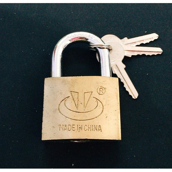 RICHDOOR Electroplated Security Padlock RD235 50mm