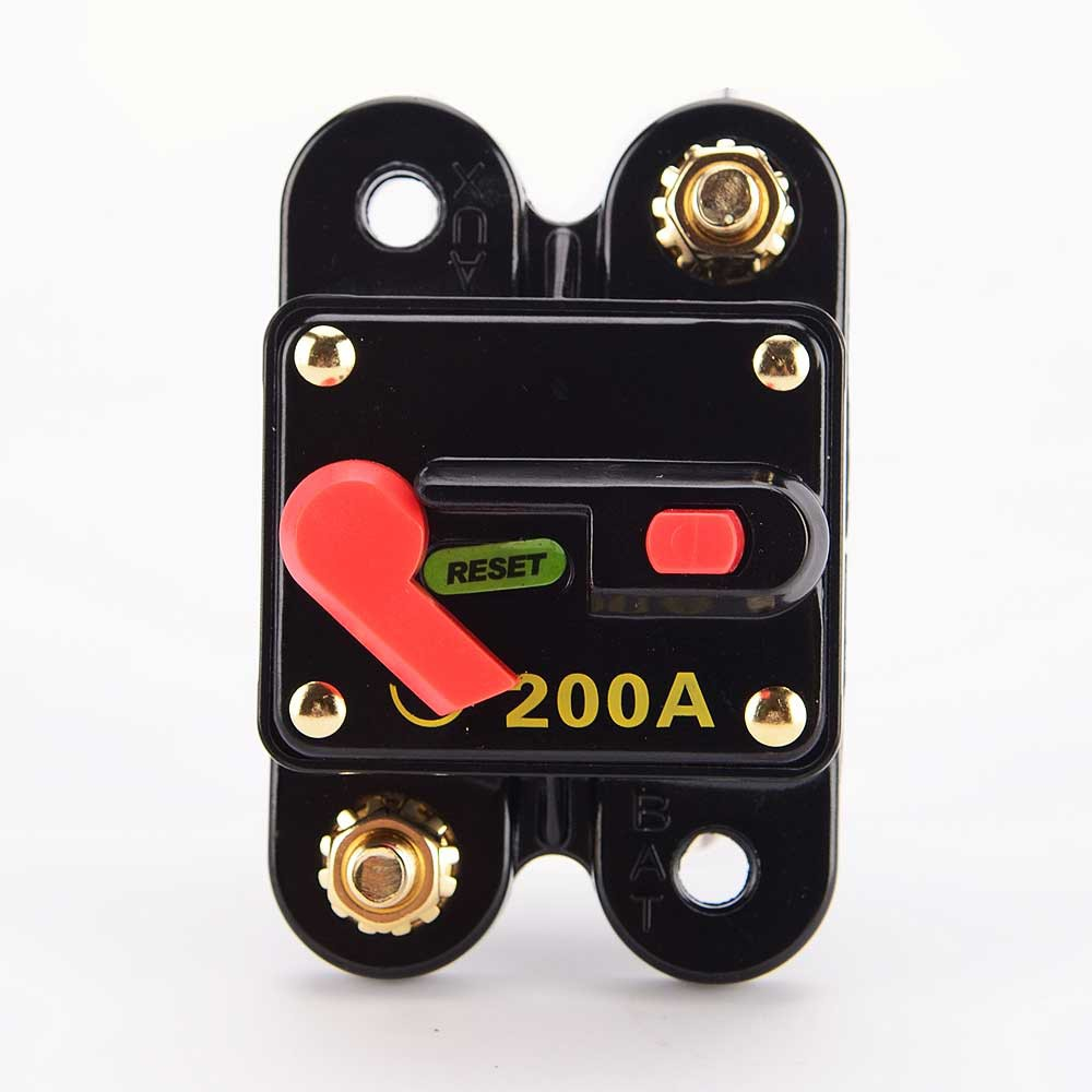 Car Audio Manual Circuit Breaker Refitted Replace Fuse Reset Limit 12v Dc 20amp 20 Amp Switch 100a Shopee Malaysia
