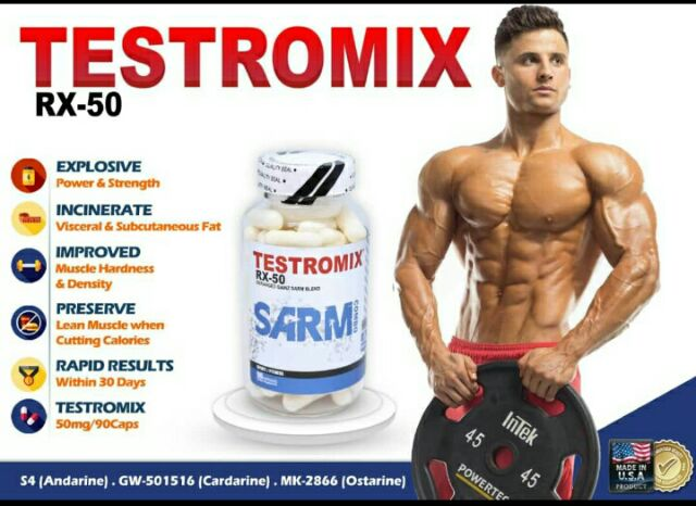 Testromix cuttingTestromix, 3 in 1 sarms, Mk2866, S4, Cardarine