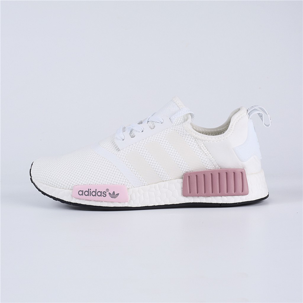 lowest price f16c7 cb2a3 Adidas NMD Runner PK BOOST PRI White Pink Sneakers / Running Shoes