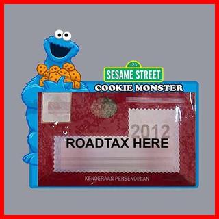 Road tax stickers - sesame street series Elmo   Shopee Malaysia