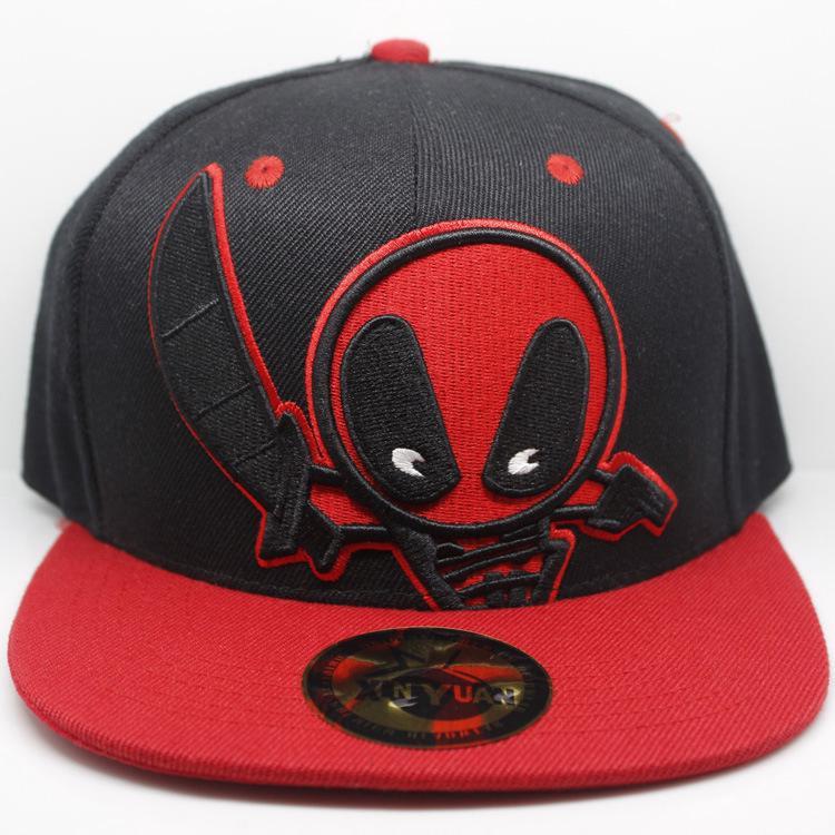 7ef148927 New Style Deadpool New Style Hat Deadpool Baseball hip-hop hat Flat hat