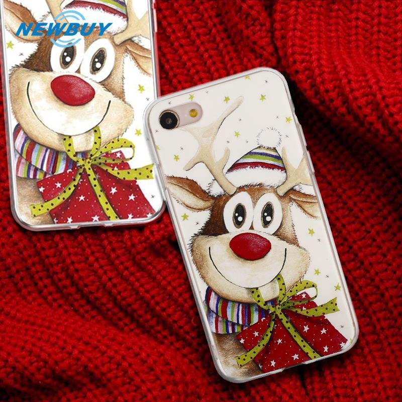Christmas Phone Case Iphone 7.Nb Christmas Phone Case Christmas Phone Shell Soft For Iphone 7 For Iphone 8