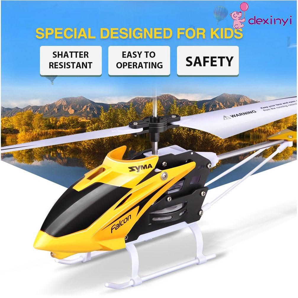 2-Way Mini-Fall Rechargeable Remote Control Helicopter Aircraft Aviation VILR