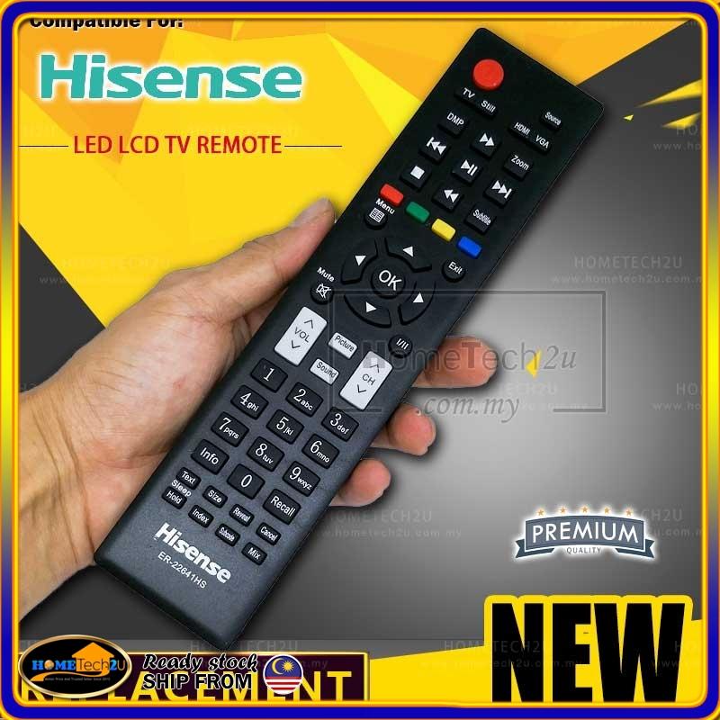 Hisense LED TV Remote Control (ER-22641HS)