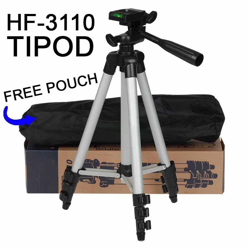 TRIPOD HF-3110 PHONE HOLDER MAX 105CM HEIGHT WITH ALUMINIUM...