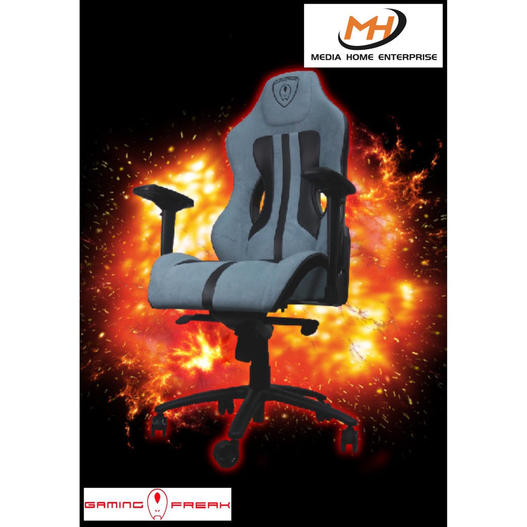 Gaming Freak Gaming Chair Throne GT-S - Luxurious-sports Gaming Chair, Carbon Fibre Texture