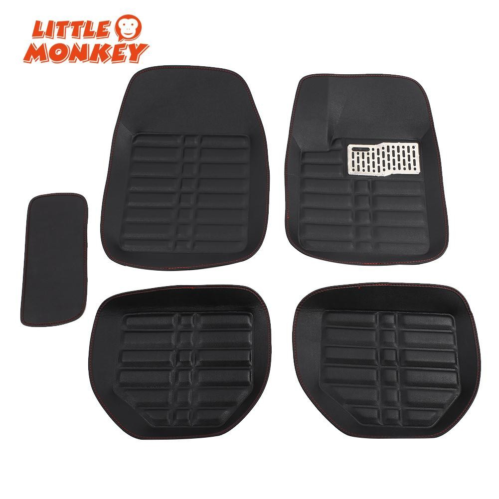 Thickness Full Set 5pcs Transparent Pvc Car Floor Mat Carpet Comport Karpet Nissan X Trail Premium 2cm Shopee Malaysia