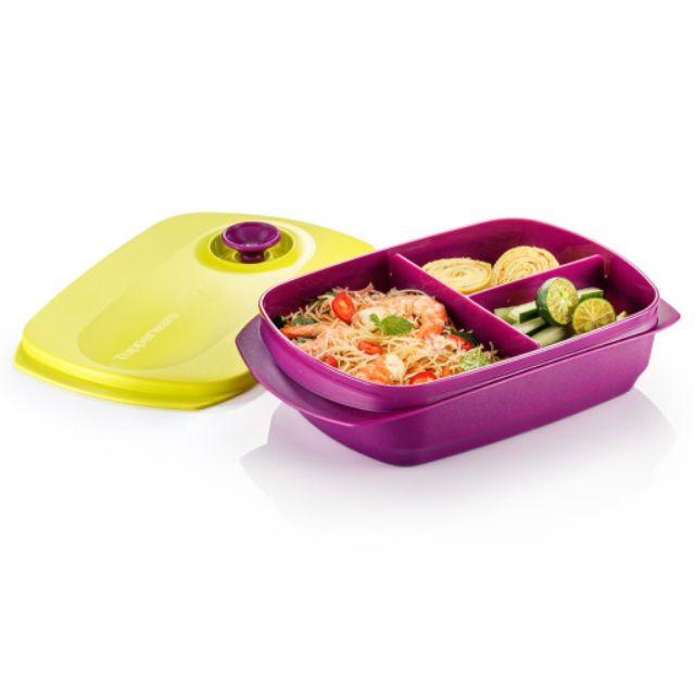 [Ready Stock] Tupperware Reheatable Divided Lunch Box