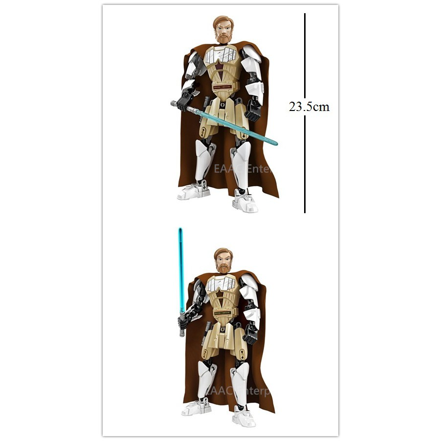 Star Space Wars Obi-Wan Kenobi Brick Building Blocks