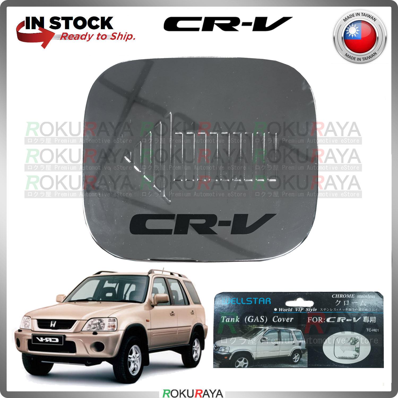 [BESI] Honda CRV CR-V RD1 RD2 RD3 (1st Gen) 1998 Stainless Steel Chrome Fuel Gas Tank Cap Garnish Moulding Cover Trim