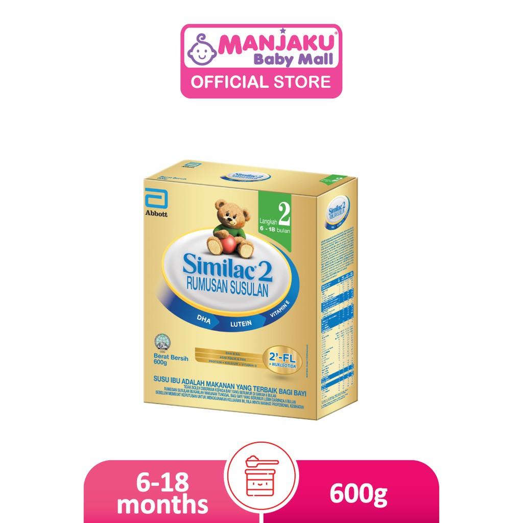 Similac Step 2 Follow-Up Milk Formula (600g)