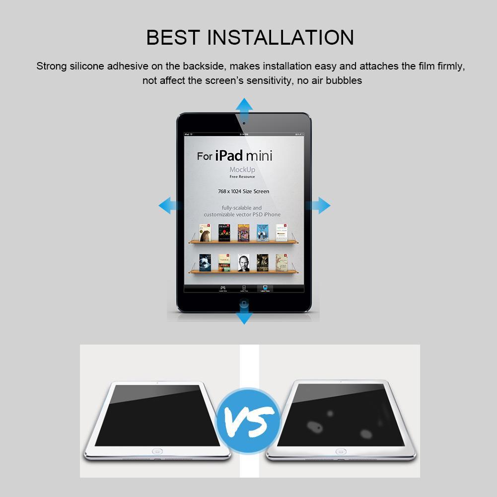9H Full-Cover HD Premium Tempered Glass Screen Protector for iPad Mini 1/ 2/ 3   Shopee Malaysia