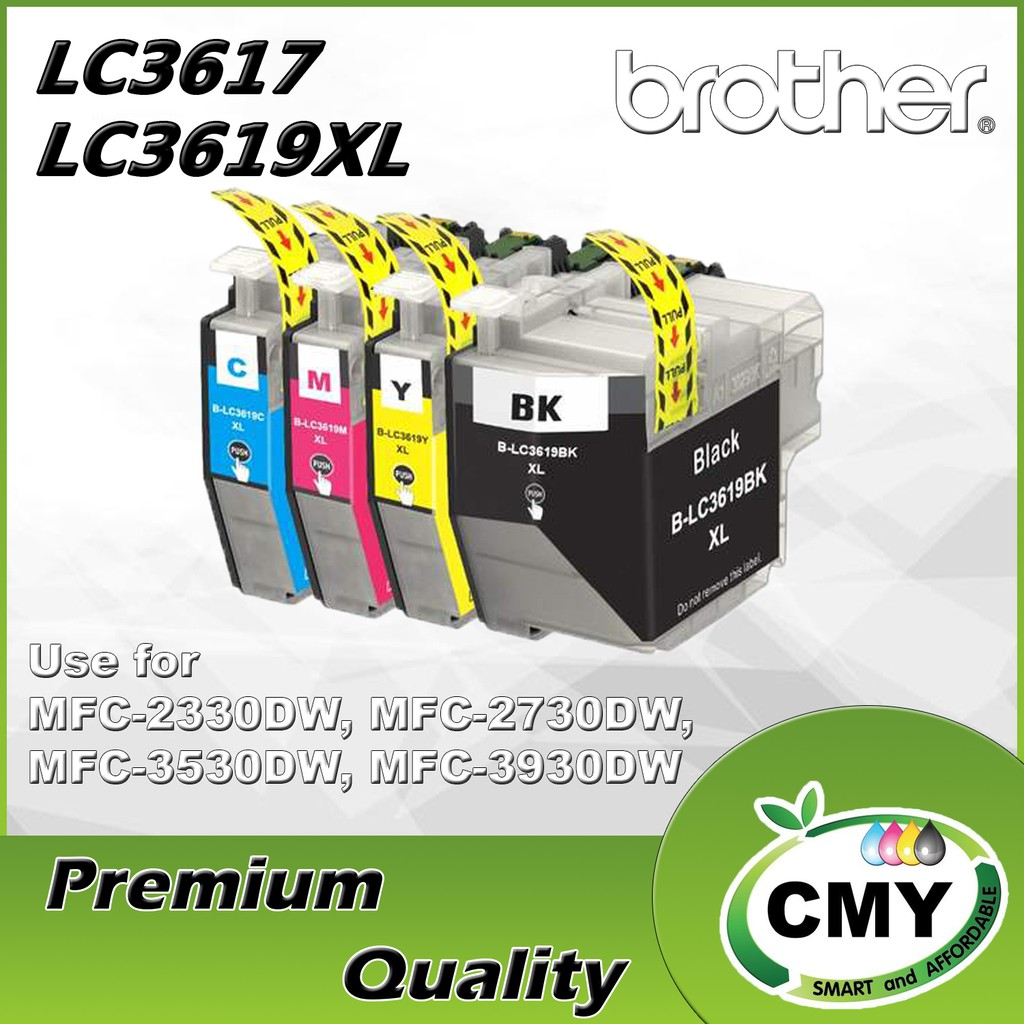 Brother LC3617 LC-3619xl LC3619CL Compatible Genuine Combo Set (BKCMY) MFC-J2330DW MFC-J2730DW MFC-J3530DW MFC-J3930DW