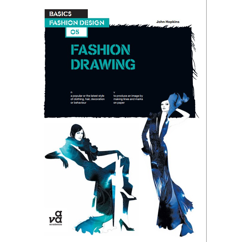 Ebook Basics Fashion Design Fashion Drawing By John Hopkins Drawing Art Graphic Shopee Malaysia