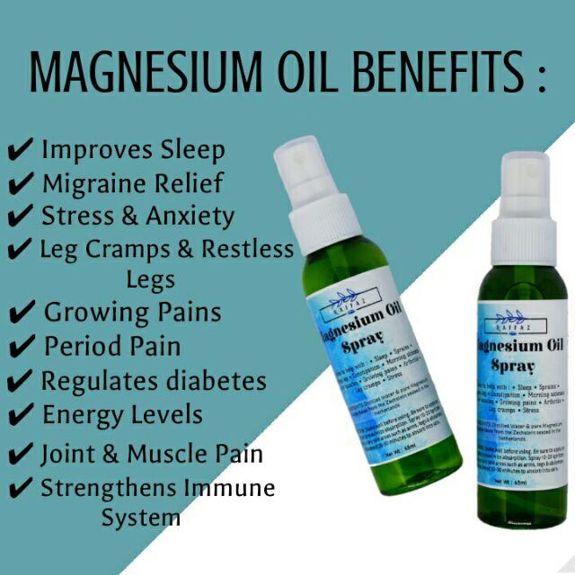 MAGNESIUM OIL SPRAY | 65ML | Shopee Malaysia