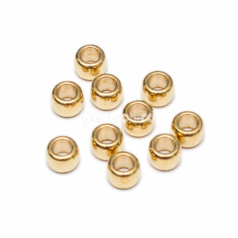 Copper Spacer Beads 4mm Pack of 10