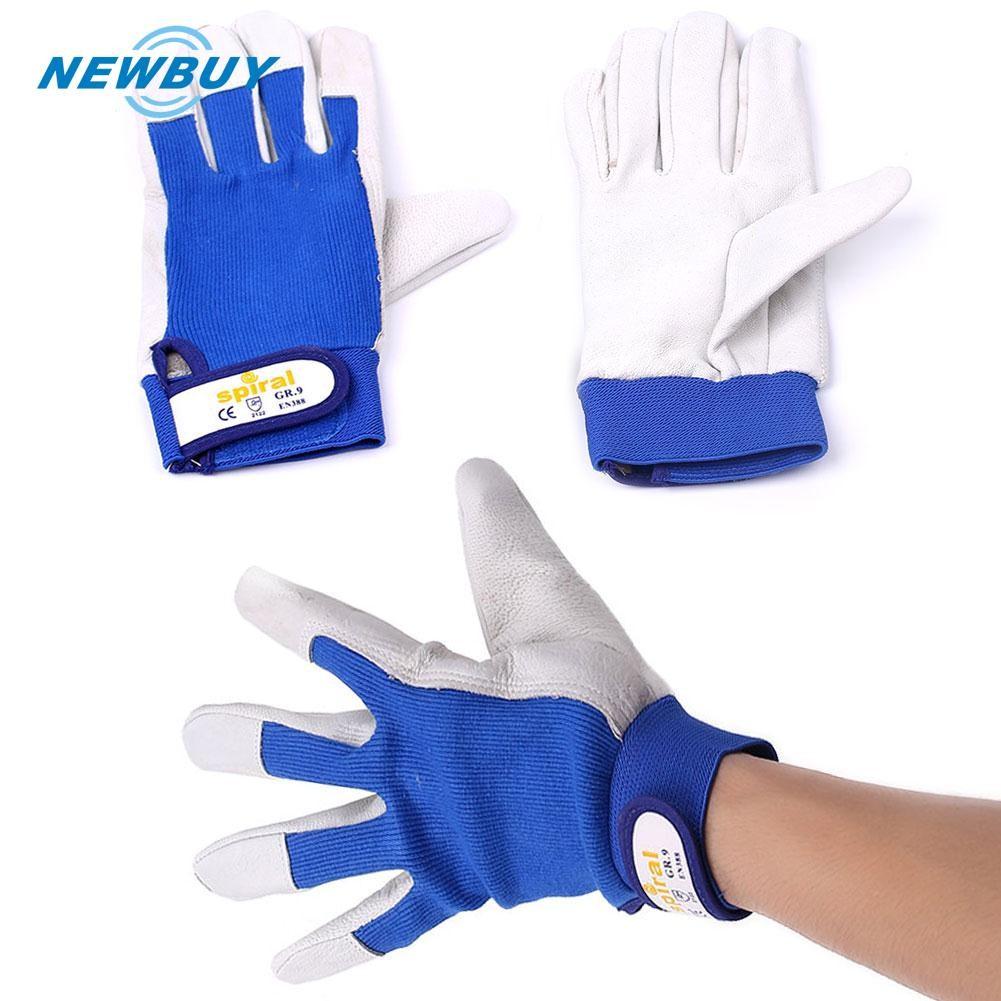 Fireproof Wearable Tig Welders Gauntlet Gloves Welding Safety Workwear 1Pair