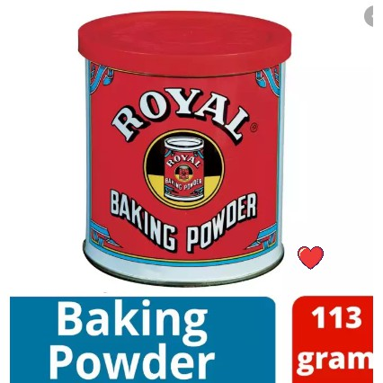 ROYAL Baking Powder 113g ( Free Fragile + Bubblewrap Packing )
