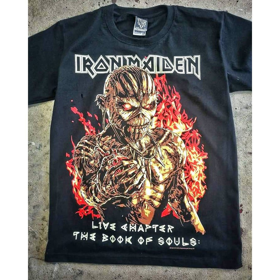 Iron Maiden /'Book Of Souls Live Chapter/' T-Shirt NEW /& OFFICIAL!
