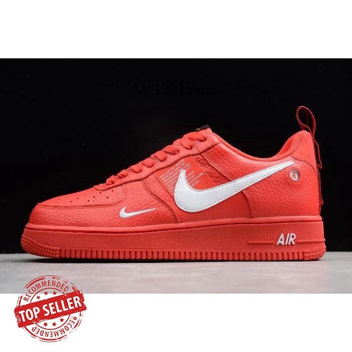 Nike Air Force 1 '07 LV8 Utility RedWhite AJ7747 600