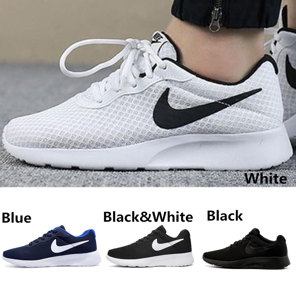 latest discount aliexpress best online Ready Stock)Original Nike Roshe Run Running Shoes Sneakers Men's ...