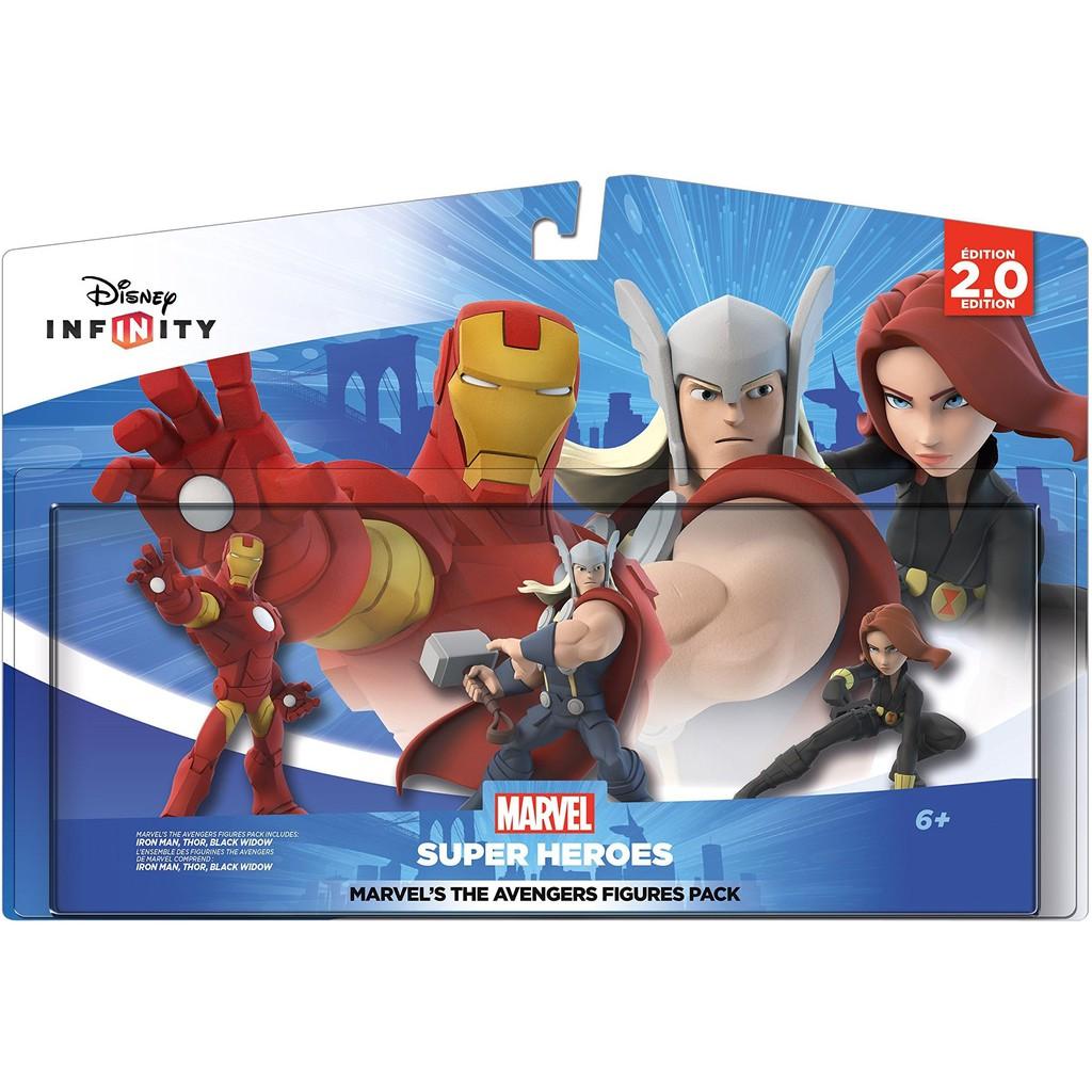 Disney Infinity Marvel Super Heroes Marvel's The Avengers Figures Pack