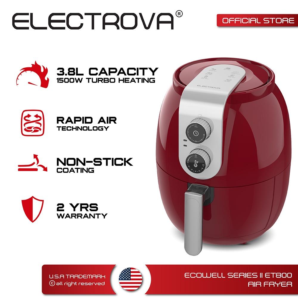 Electrova Ecowell Series ii ET800 Air Fryer (3.8L)