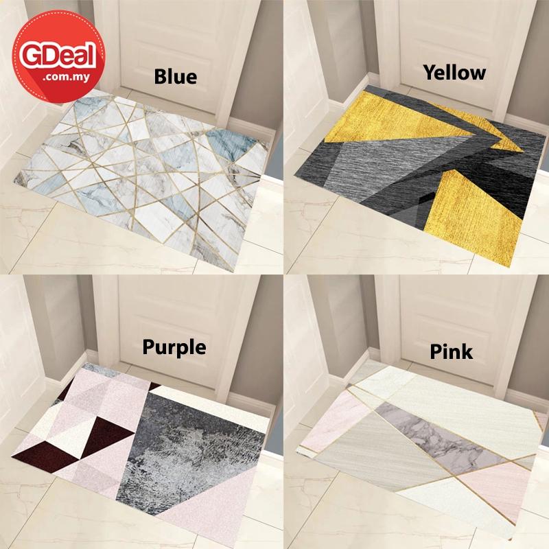 GDeal Nordic Bedroom Small Carpet Living Room Floor Mat (60cm x 90cm) Permaidani