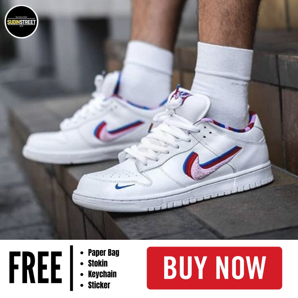 Pensativo metal Hong Kong  HIGH QUALITY PREMIUM COPY 1:1 NIKE AIR FORCE 1 SB DUNK LOW PARA SNEAKERS  SHOES FOR UNISEX | Shopee Malaysia