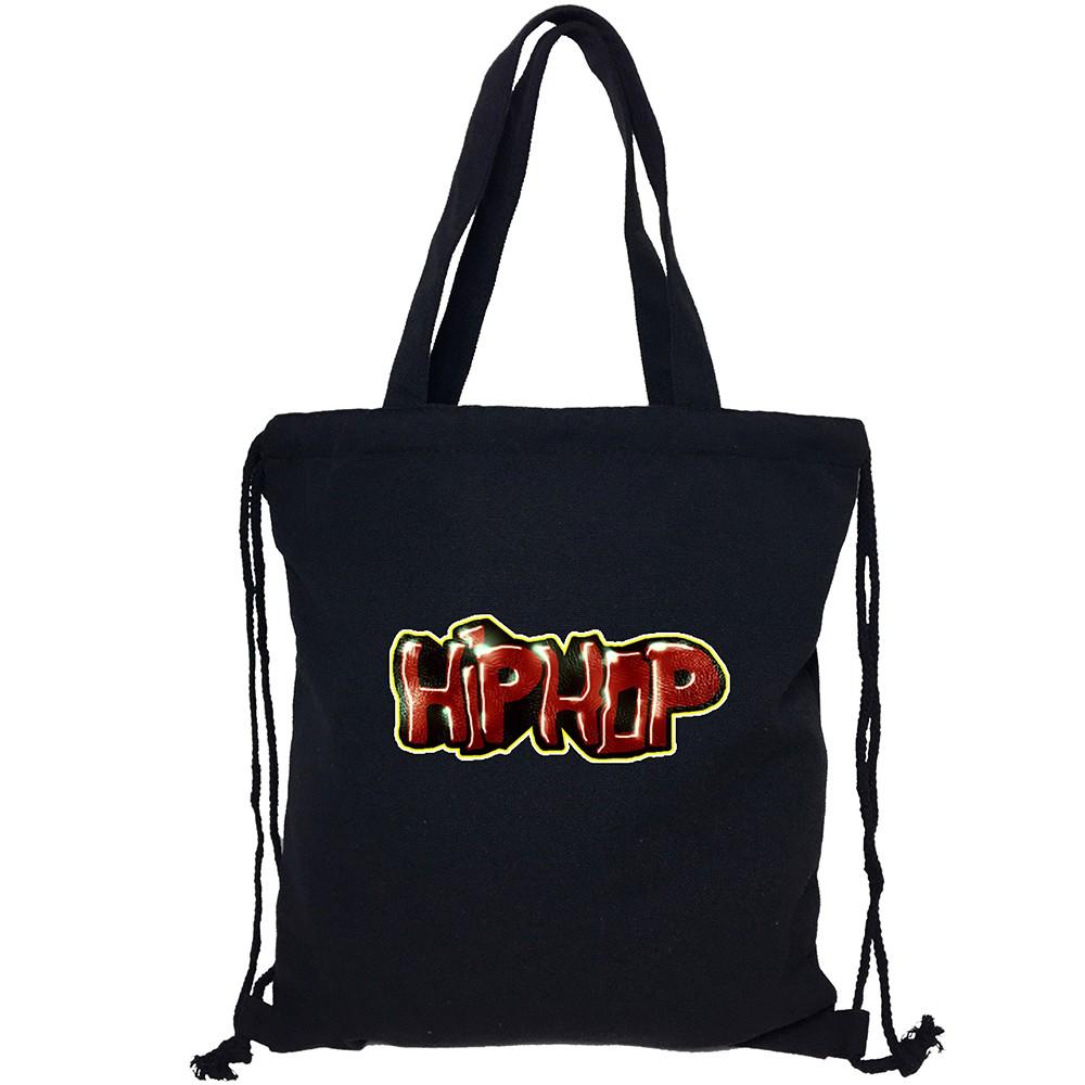 Graffiti Hip Hop Drawstring Backpack Bags//Travelling Bag//Bundle Backpack