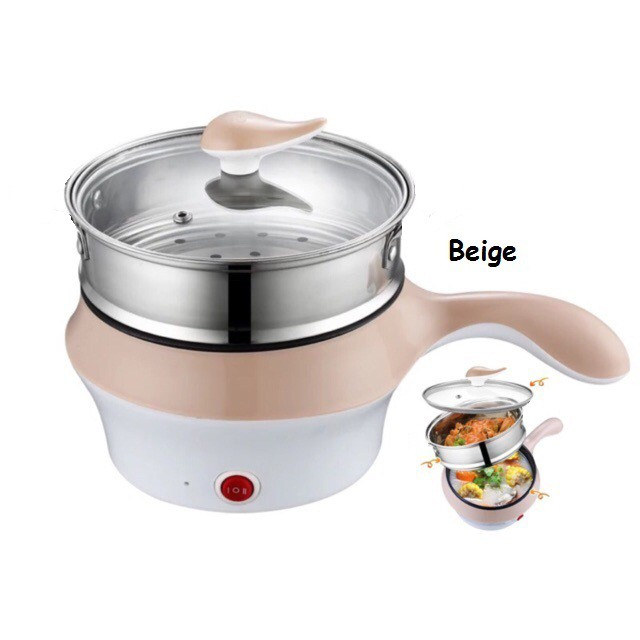 Electric Nonstick Ceramic Multi Cooker Frying Pan Grill